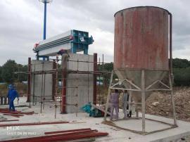 大锯锯泥泥浆脱水处理人造石淤泥脱水机