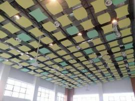 高铁站售票大厅 降噪吸音用 岩棉玻纤吸声板 屹晟建材