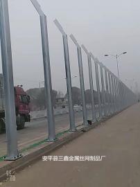 高速公路声屏障 隔音墙