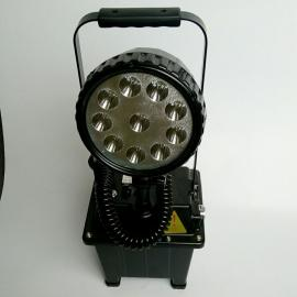 LED防爆便捷式移动灯BQ7910铁路隧道大范围移动照明灯升降2.8米