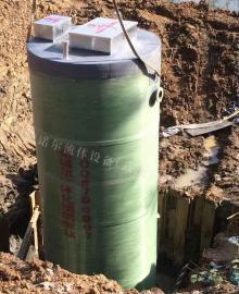 一体化预制泵站 一体化污水提升泵站