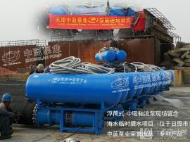稳定便捷QSZ中吸浮筒式轴流泵高质量