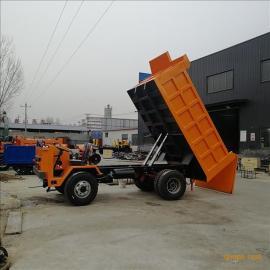 骐骥6-16吨四驱翻斗四不像车 前后驱动农用车 井下巷道运矿车