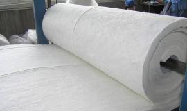 硅酸铝针刺毯生产厂家 陶瓷纤维甩丝毯耐火棉