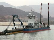 江西200方抽沙船�送距�x�_500米 12寸�g��式抽沙船