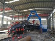 孟加拉港口清淤12寸挖泥船 航道清淤绞吸式挖泥船
