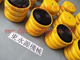 虹瑞气垫式减震器,破碎机减震防振垫 当然东永源