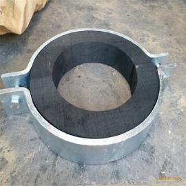 保冷木管托 滑动固定双螺栓管托 管道工程紧固件