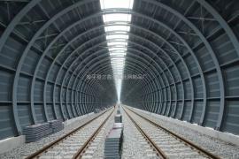 高铁 铁路声屏障 隔音墙(全封闭,半封闭)