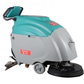 KL570超市工厂车间商场全自动洗地机手推式擦地机污渍清洗机