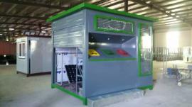 镀锌钢板环保垃圾房好金属雕花板环保垃圾房优惠