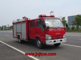 JDF5071GXFSG20/Q型水罐消防车|五十铃2吨水罐消防车