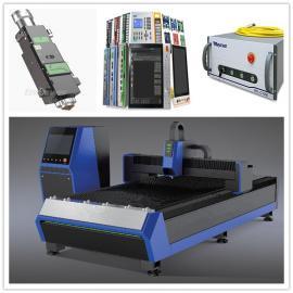 激光切割机不锈钢碳钢铁板500W 1000W光纤激光切割机