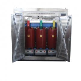 10/0.4 630KVA Dyn11三相树脂浇注干式变压器 风机温控