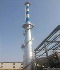 锅炉房烟囱加固 水泥烟筒刷色环 烟筒避雷针安装公司