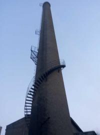 烟囱避雷针安装 烟囱更换爬梯 锅炉烟筒拆除加高 公司