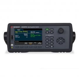 是德科技Keysight DAQ970A数据采集系统 34970A升级数据采集器