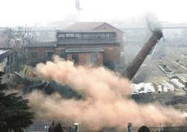 电厂烟囱拆除 钢铁厂烟囱拆除 酒厂烟囱拆除公司
