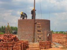 新建砖混烟筒施工 高空砼烟筒新建施工 电厂新建砼烟筒施工公司