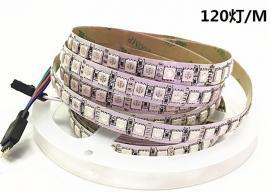 12V5050单排120珠LED灯带灯条质保3年 户外轮廓装饰LED灯条