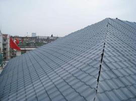 ASA钢架棚树脂瓦 屋顶PVC树脂瓦
