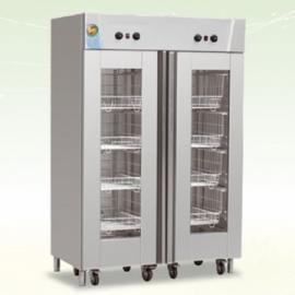 美厨双门消毒柜MC-8 双门热风循环消毒柜 带推车高温消毒柜