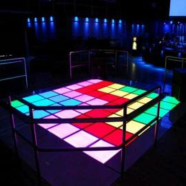 虹美HM-LF06LED地板砖 KTV酒吧清吧地板砖重力感应染色地板砖