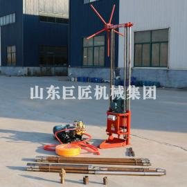 QZ-1A两相电取样钻机 轻便工程勘查岩心钻机小机器大能量