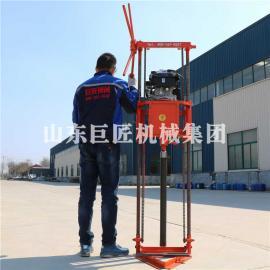 QZ-2B汽油动力轻便岩心取样钻机 可拆解地质勘探钻机