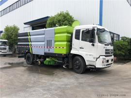 东风天锦8吨道路洗扫车
