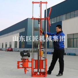 巨匠集团 地质勘探钻机QZ-2CS型卷扬机款汽油机轻便取样钻机