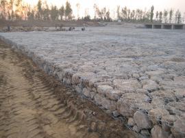 河道护坡10%铝锌合金格宾网、热镀锌格宾网、镀锌覆塑格宾网