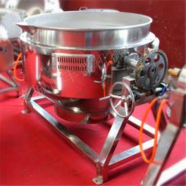 可倾式燃气夹层锅 豆浆蒸煮锅 枣泥馅料搅拌炒馅机
