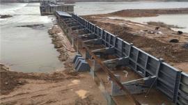 液压升降坝 水力双控液压翻板闸门 厂商