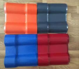 灰色树脂瓦货源直发 耐腐蚀红色树脂瓦