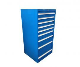 工具储存铁柜,抽屉式工具柜,工具摆放柜利欣