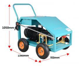 电动高压清洗机500公斤房格高压剥漆石材表面磨砂清洗机