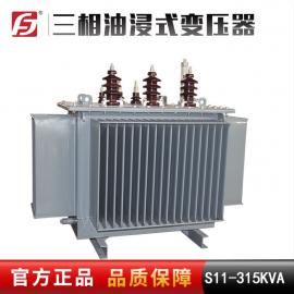 全密封 S11-315KVA 10 11/0.4 可订制 户外使用油浸式变压器