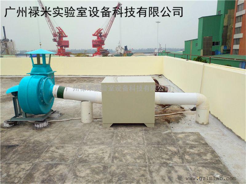 实验室不锈钢通风柜排风系统管道设计