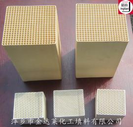 高温型蜂窝陶瓷蓄热体 轧钢厂蓄热体蓄热体 金达莱精填牌