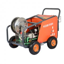500公斤压力380V电动高压清洗机喷砂除锈地面石材翻新市政工程用