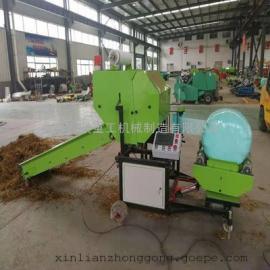 国补产品XL-5552型青饲料秸秆打包机 鑫联牌玉米秸秆打包机型号