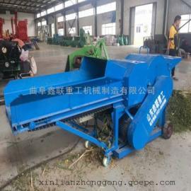 鑫联牌铡草揉丝粉碎一体机效率 6吨秸秆揉丝机需要多大电机带