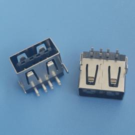 USB 2.0 �p面插 板上型母座 8P �赡_插板 直�