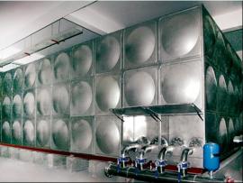 地上式生活箱泵一体化给水设备工作原理