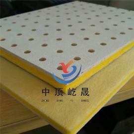 工厂降噪隔音用 岩棉硅酸钙吸声板 屹晟建材出品 硅酸钙降噪板