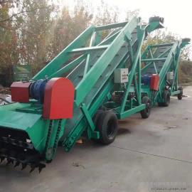 大型青贮池刮板取料机报价 圣泰青饲料堆取草机视频 现货直发