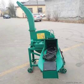 玉米秸秆铡草机效果好 小型饲料铡草机报价 牛场必备