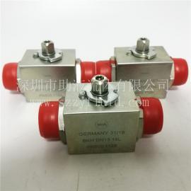 德国原装进口MHA二通高压球阀BKH-DN13-18L-1128