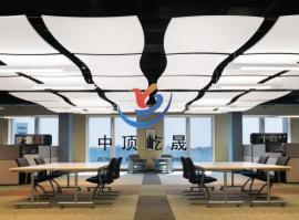 吸声吊顶板 降噪吸音板 岩棉玻纤降噪垂片 屹晟建材吸声板